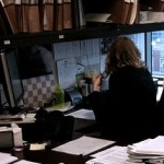 Lawyer at desk working